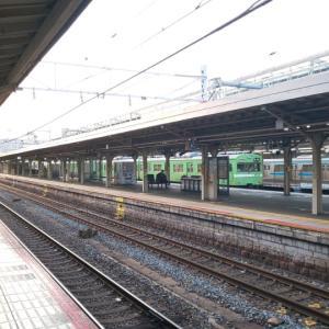 おとといの京都駅にて。