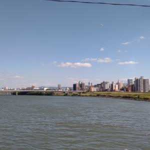 大阪市内へ。
