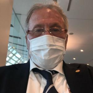 【朗報】ジーコ氏がマスク姿で日本のコロナ対策について世界にアピールをしてくれるwwwww