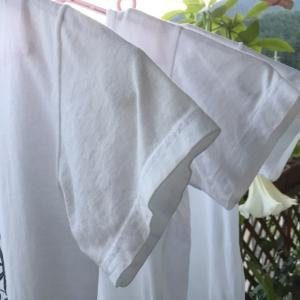 白い衣類の染み抜きにはベンジン