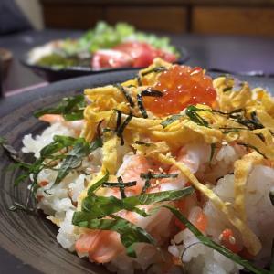 すし太郎で簡単ちらし寿司