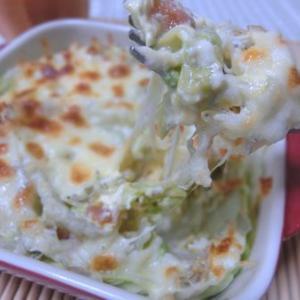白菜とじゃこと梅があれば☆ やみつき白菜の和風キッシュ