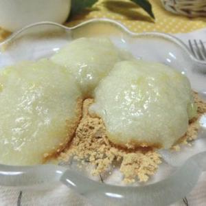 お鍋で簡単☆ 甘さ控えめ♪ 豆腐とパインでわらびもち