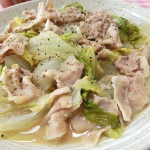 ワンパン10分☆ くたくたウマウマ♪ 白菜と豚バラのにんにく味噌煮