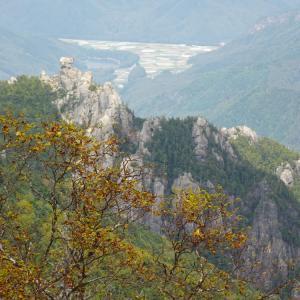 ズル金(金峰山)の紅葉前線は