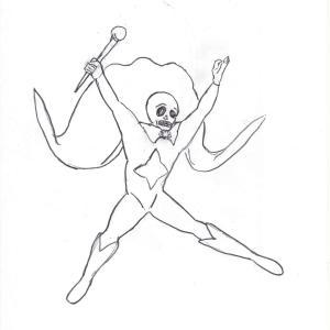 やまとの聖者✡水晶髑髏のイメージ画