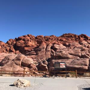 Red Rock Canyonへ ~ラスベガス・2日目