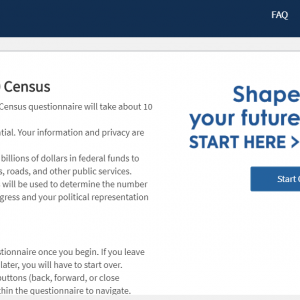 Census 2020 ~アメリカ国勢調査