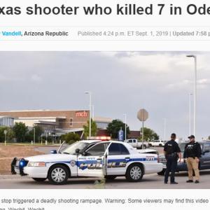 銃撃事件が続く。。。