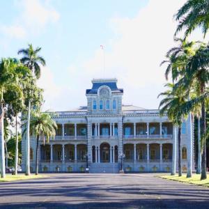 イオラニパレスでハワイの歴史を知る