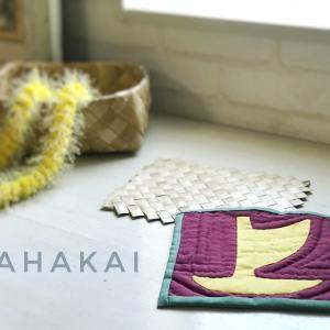 岩面に刻まれた古代ハワイのペトログリフ〜ハワイアンキルト〜