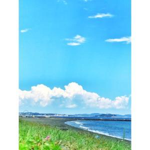 夏を感じる空と和かな雰囲気のレッスン♪