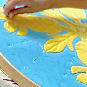 楽しみながら丁寧に縫って仕上げるハワイアンキルト