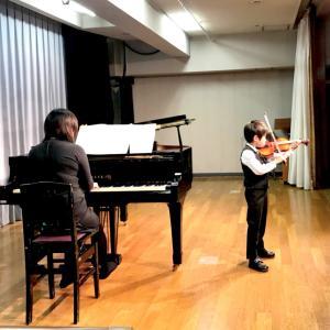 バイオリンの生徒さんを募集しています。