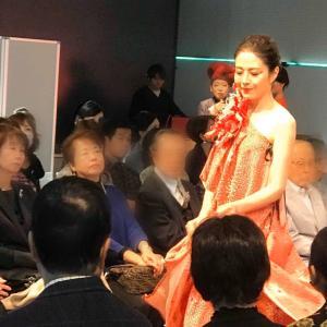 【 着物ドレスファッションショー】
