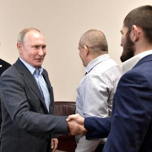 プーチン大統領のダゲスタン共和国訪問 (2)