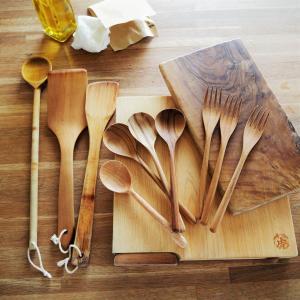木製ツールのお手入れ。