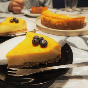 休日おやつ:チーズケーキ