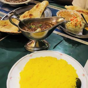 インドカレーディナー。