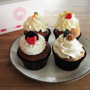 可愛いカップケーキ。