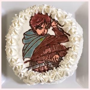 パパ birthday♡とキャラケーキ