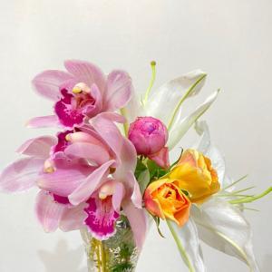 キレイなお花とお菓子、おススメ映画
