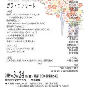 【明日開催】第33回スプリングコンサート