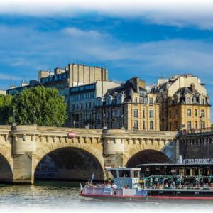 """""""新しい橋""""だけど、パリで一番古い橋"""