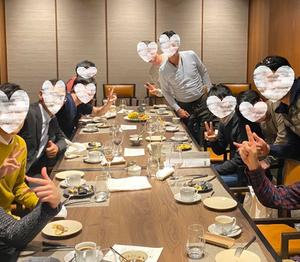 新年会大盛り上がり~!