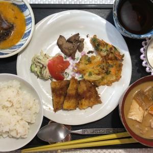 ☆本日のお昼ご飯☆いわしのパン粉焼き御膳