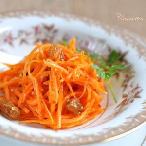 """フレンチ作り置き惣菜 """"キャロットラペ"""" 色々とオレンジのエネルギー"""