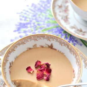 紅茶のゼリー、アールグレイで。