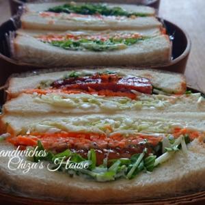 sandwiches  bistro Chizu's House