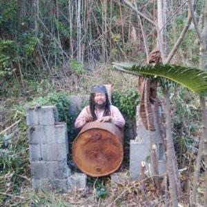 ドラム缶風呂 作製