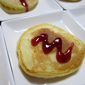 『パンケーキにケチャップ!?』