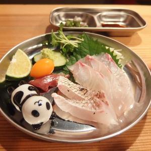 禁煙立呑みゼファー食堂@神戸・東川崎交差点角「本日は天然真鯛を入荷する予定やねん!」