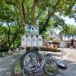 〓【プチライド80km】榎本牧場で休憩〓