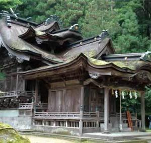紙漉き職人の聖地『岡太神社・大瀧神社』@福井県(その2)