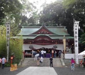【2020.7】例大祭中の「来宮神社」にて@静岡県
