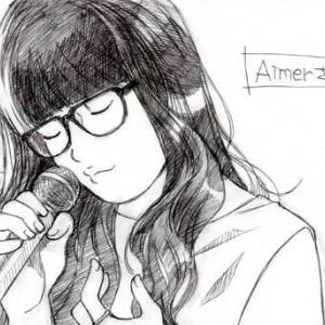Aimer(エメ)さんのイラストを描いてみた2