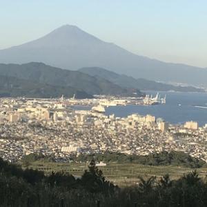 富士山が綺麗に見える穴場(静岡市清水区)@静岡県
