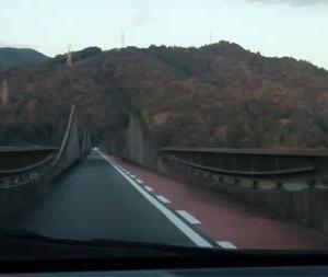 「大井川水路橋」を渡る@静岡県