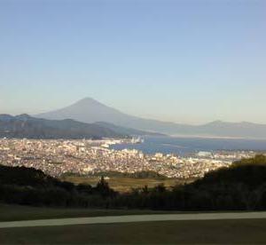 日本平ホテルからの富士山@静岡県