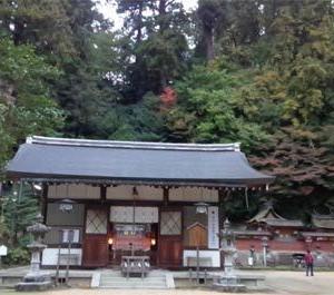 国宝「宇太水分神社」@奈良県(その1)