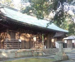 『男神社』(おたけびの宮)@大阪府(1)