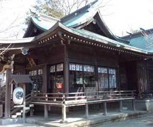 海老名の鎮守様『弥生神社』@神奈川県