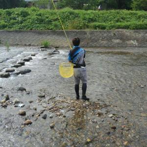 魚野から友人が来たので、会津大川支流湯川へ❗&会津大川南会東部地区へ❗