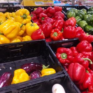 フランス スーパーの野菜