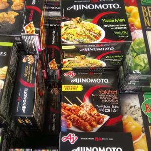 フランスのスーパー 味の素の冷食 入荷
