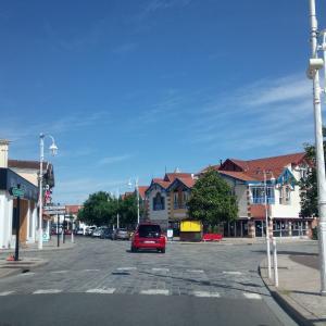 南西フランスの海の町